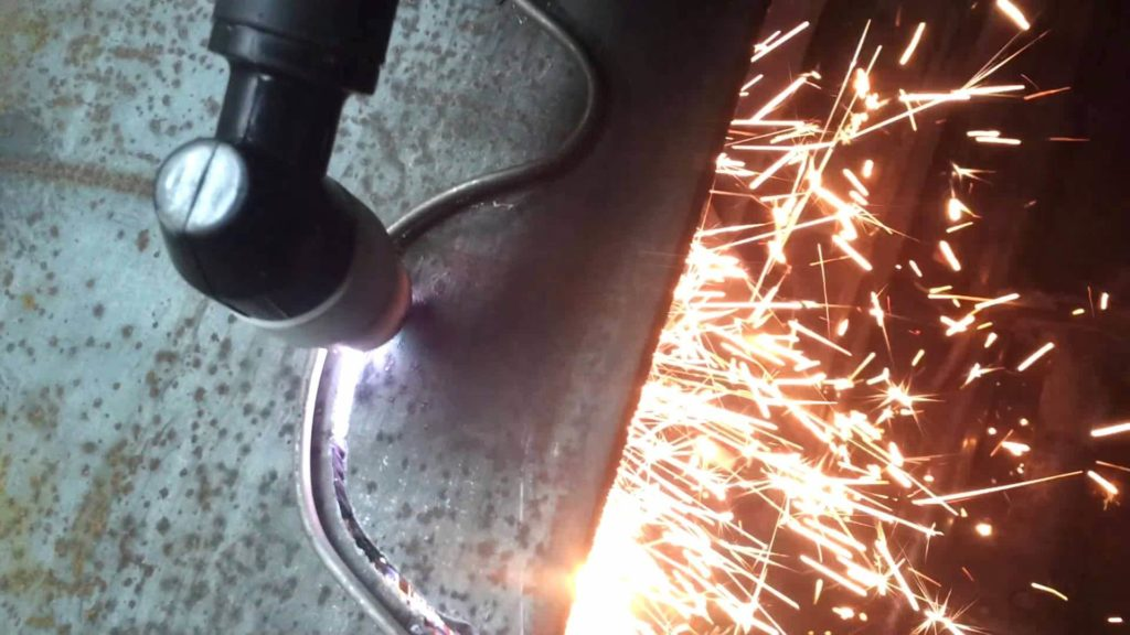 резка плазмой металла