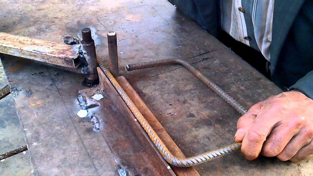 станок гибочный для арматуры