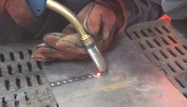 варить полуавтоматом тонкий металл